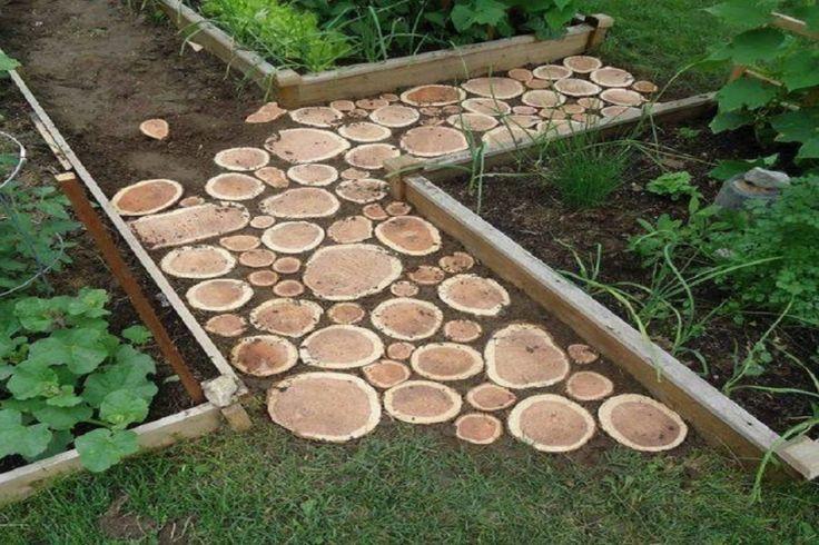Créez votre propre passage piétonnier dans votre jardin #erhöhtegartenbeete