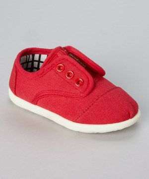 When the playground just won't wait, slip those tootsies into a pair of super-cool sneakers. No laces needed, this sturdy pair helps them go and go and go!