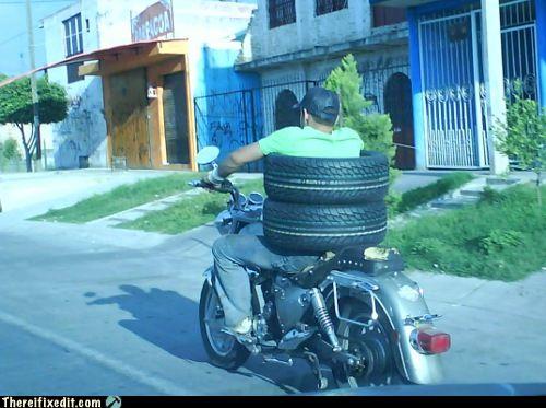 как довезти колеса до дома