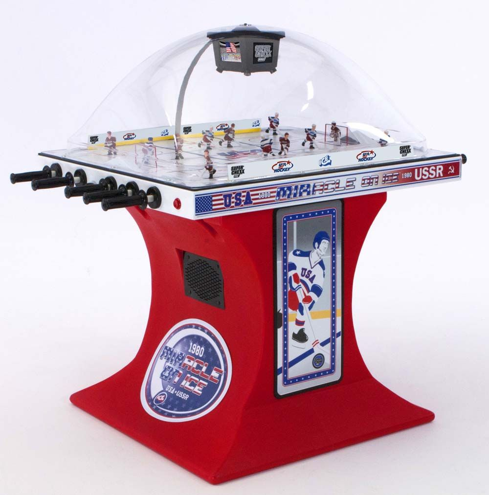 Check Out The Deal On Super Chexx Pro Miracle On Ice Bubble Hockey Table At American Super Sports Hockey Winter Olympics Usa Hockey