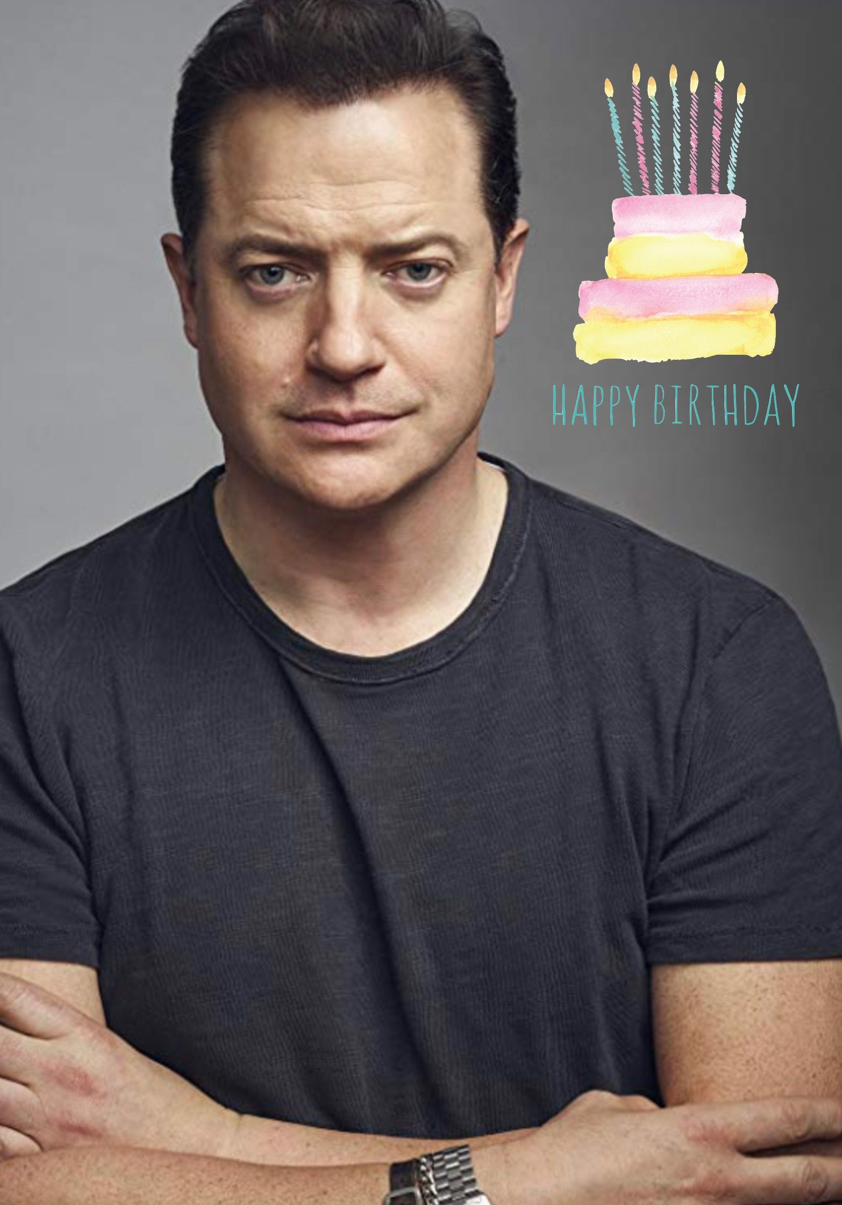 Happy Birthday Brendan Fraser Greeting Card Companies Greeting Card Collection Wholesale Greeting Cards