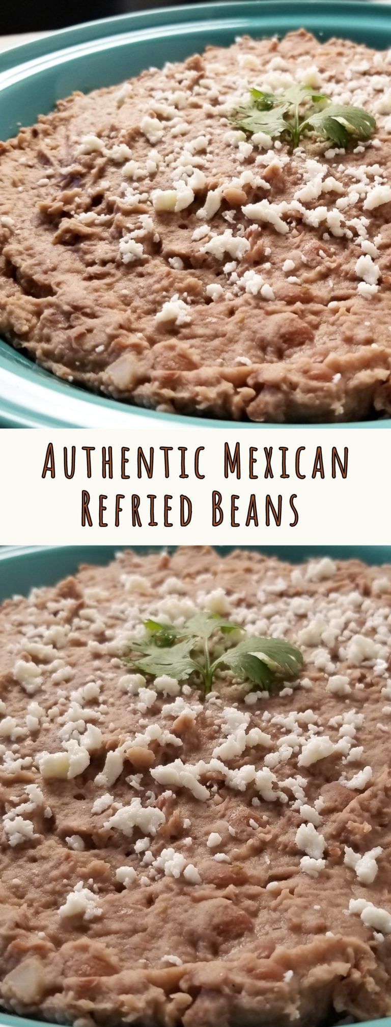 Authentic Mexican Refried Beans   Amanda Cooks & Styles
