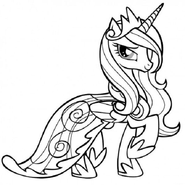 My little pony friendship is magic coloring pages 10