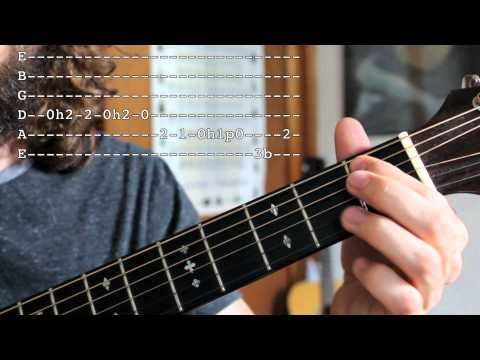 Beginner Blues Guitar Lesson - Lead Guitar Tricks and Licks in E ...