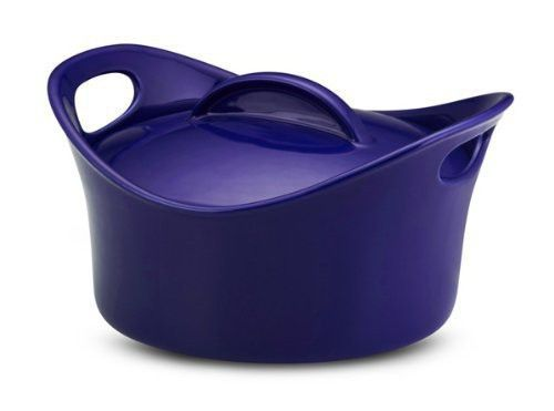 NEW LISTING! @ebid #eBid #RachaelRay Impress your friends with all your favorite baked dishes when you bake them in this Rachael Ray Stoneware 2-3/4-Quart Covered Bubble and Brown Casserround Casserole. This round, covered baking dish is perfect for baking all of your favorite dishes, including pasta, casseroles, and more.