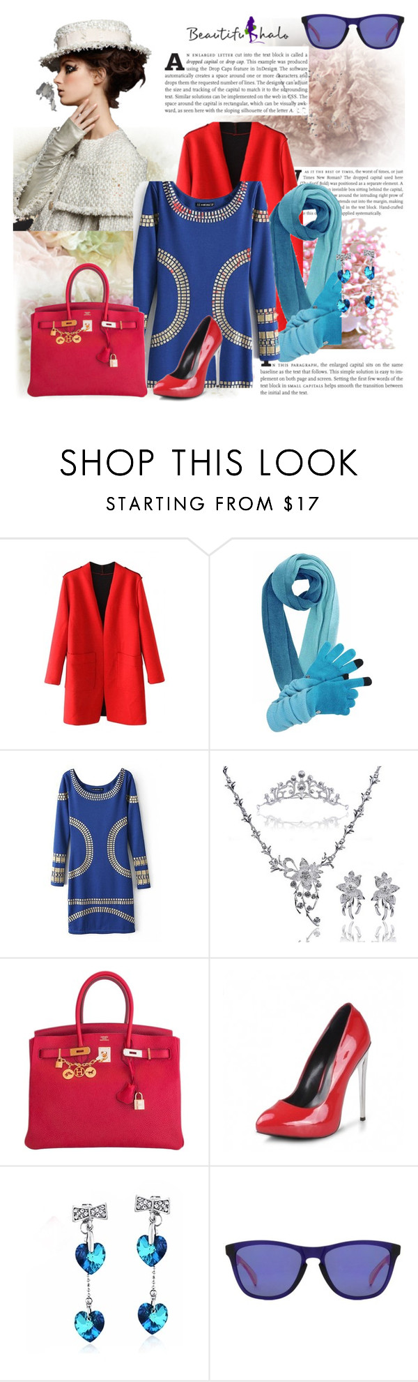 """""""opet enci"""" by ane-twist ❤ liked on Polyvore featuring Hermès and Oakley"""
