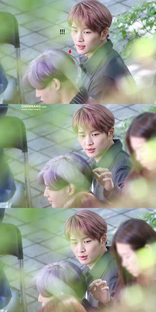 Onew Who Can T Keep His Eyes Off Taemin During Dangerous Dance Moves Kkuljaem Taemin Shinee Dance Moves