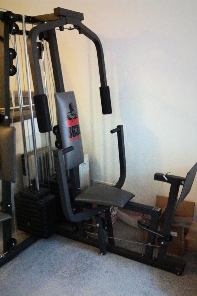 Weider 8630 Home Gym Assembly Instructions