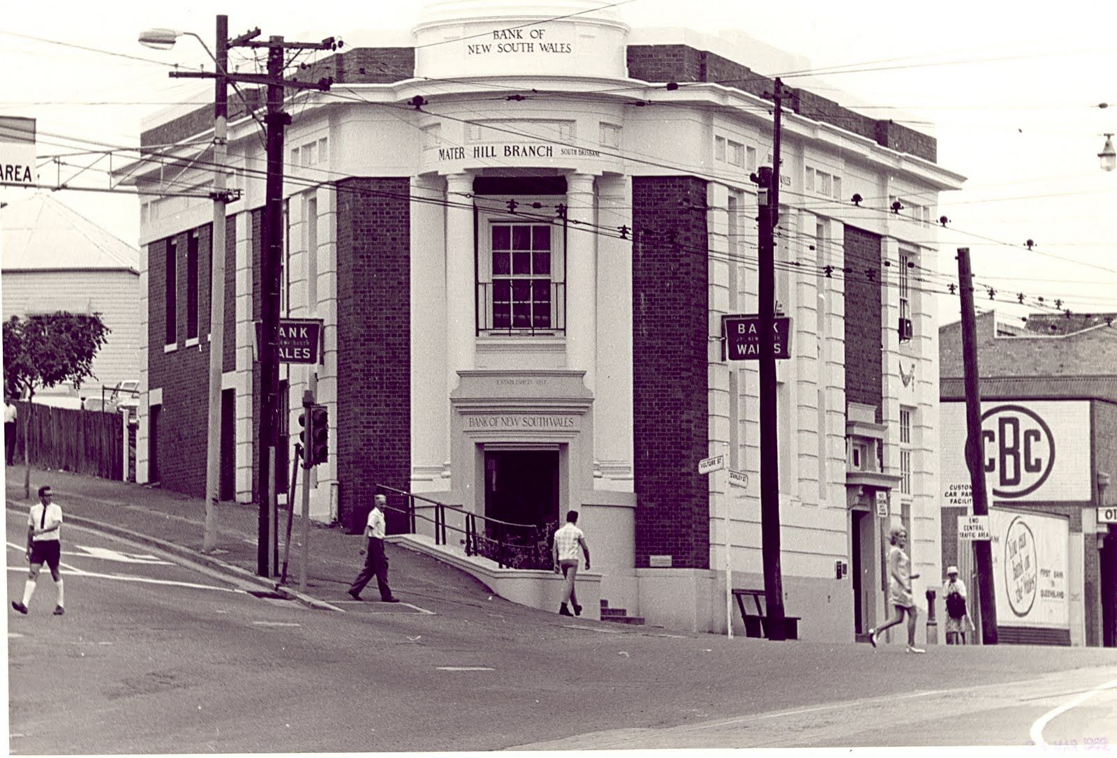 Your Brisbane Past And Present Corner Vulture St And Stanley St