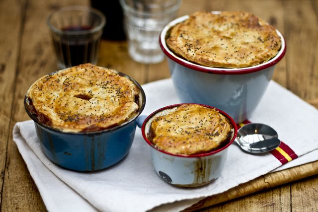Beef, Guinness and Mushroom Pies - I already have the ...