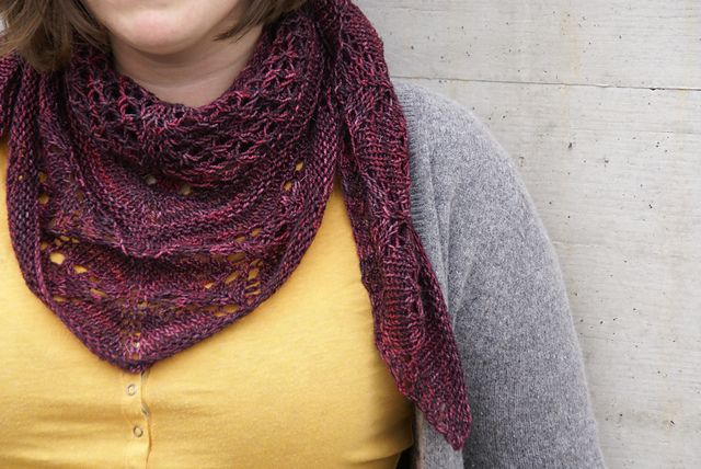 Ravelry Cassiope Pattern By Alexandra Beck Free Pattern One Skein