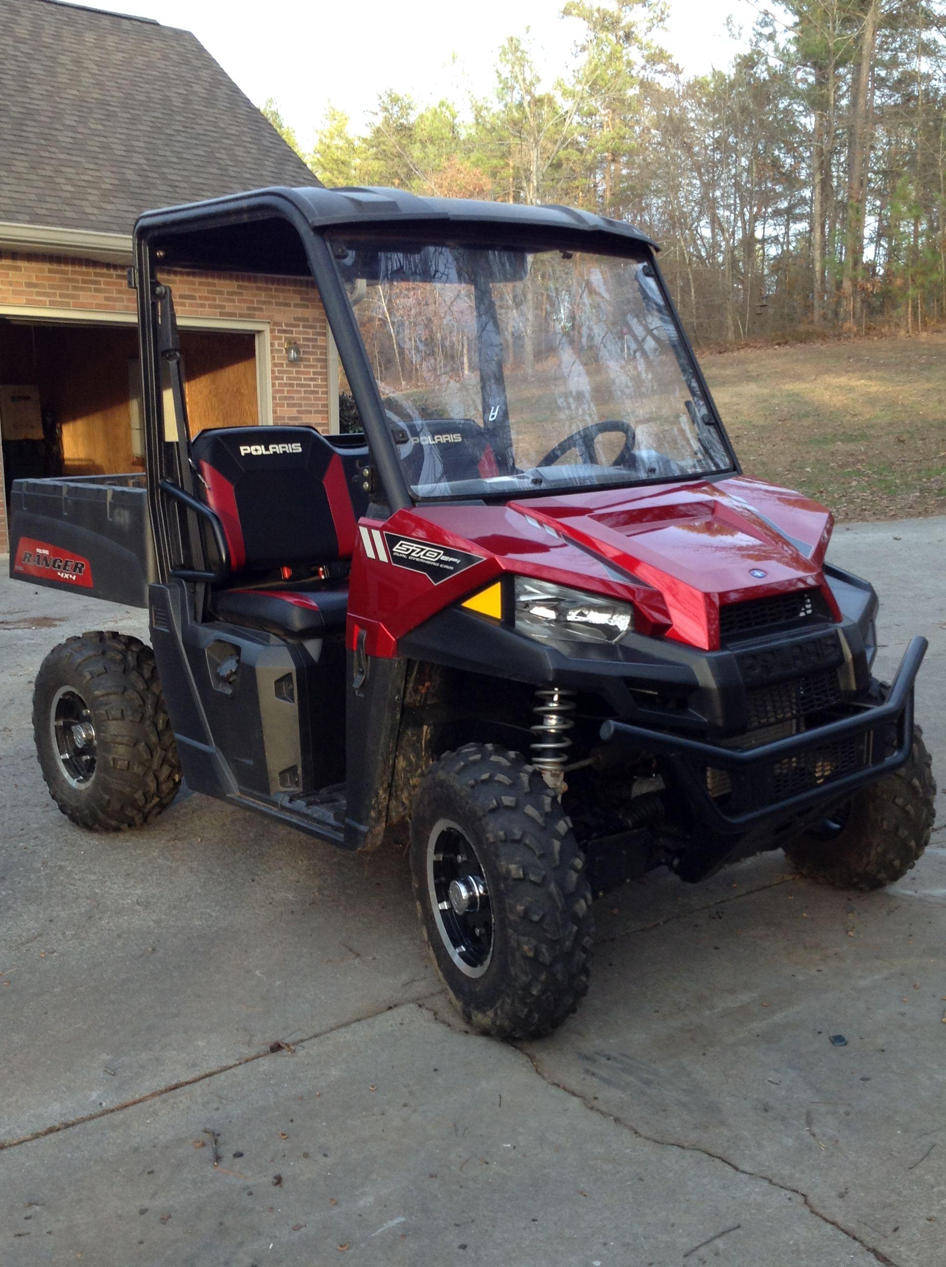 570 Red Polaris Ranger