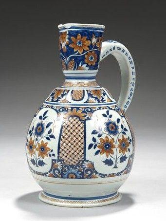 Rouen ceramic, c. 1710