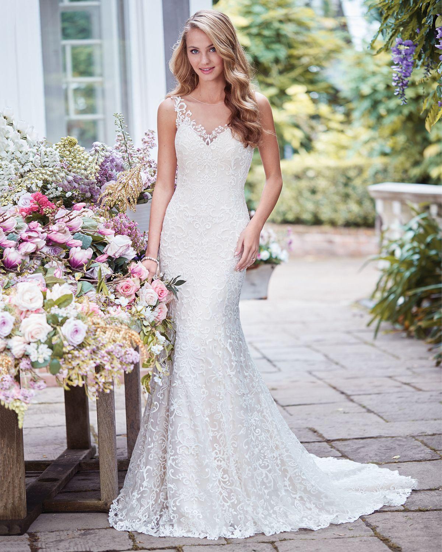 Vestido de Noiva de Rebecca Ingram (Adrian) coleção 2018. Corte ...