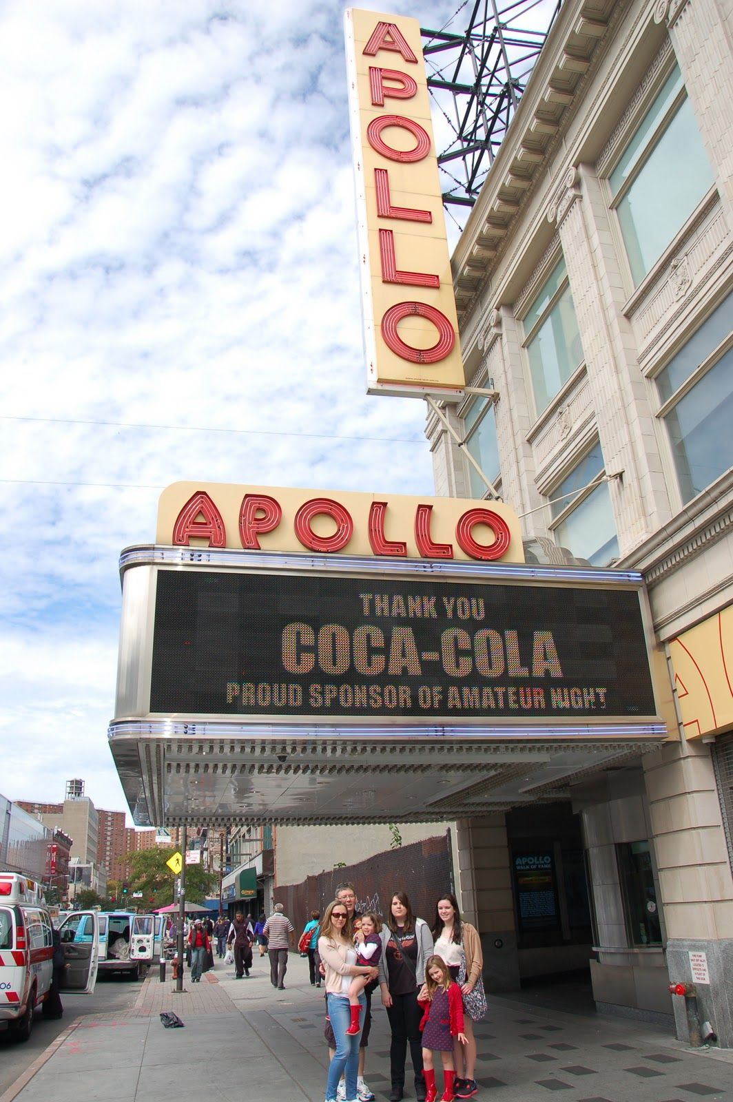 Amateur apollo night theater there can
