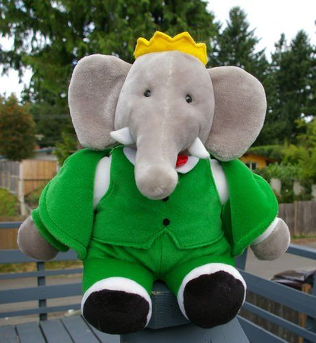 Babar The Elephant Plush Toys Pinterest Elephant Baby And Nursery
