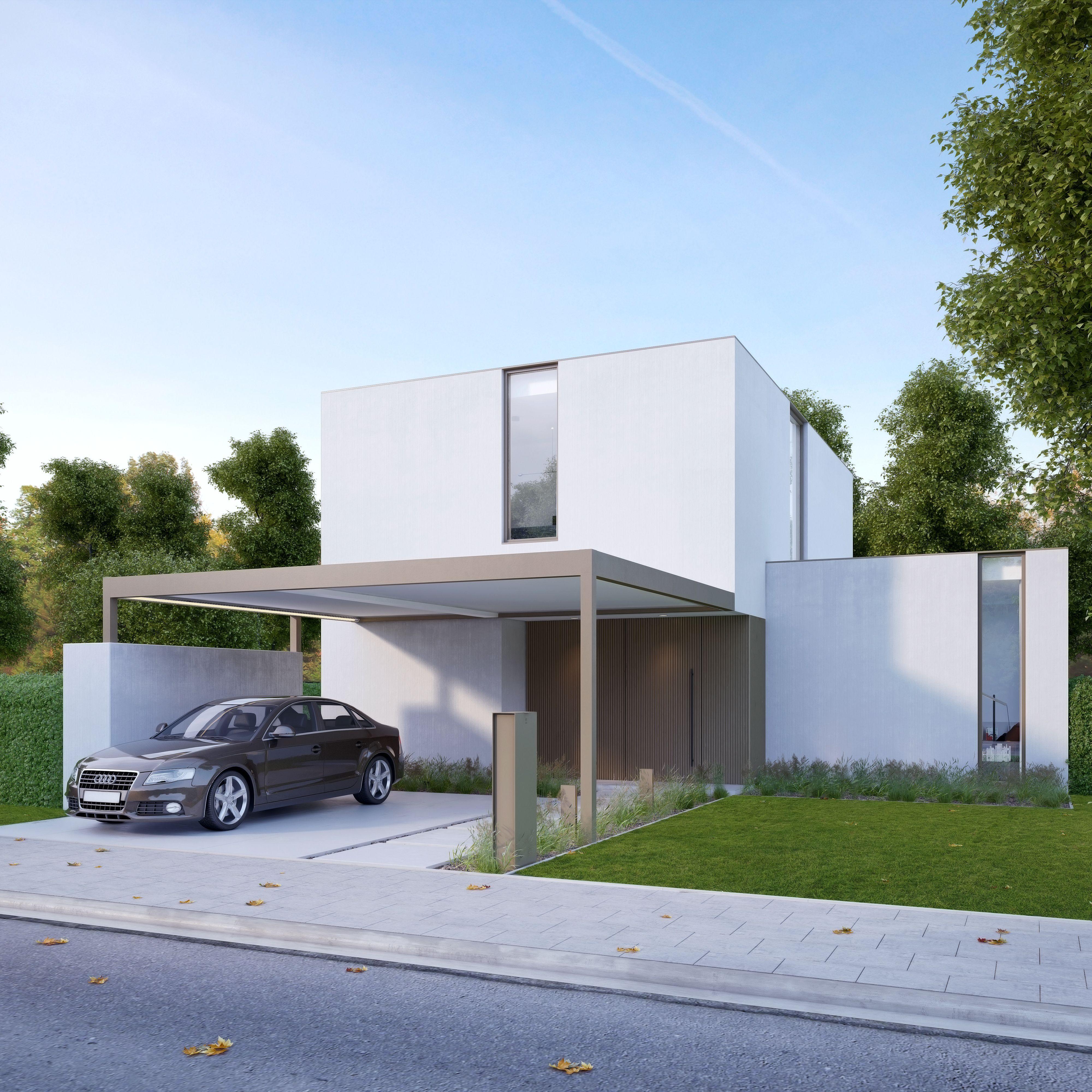Renson Canvas: Terrassenüberdachung und Carport in einem Design ...