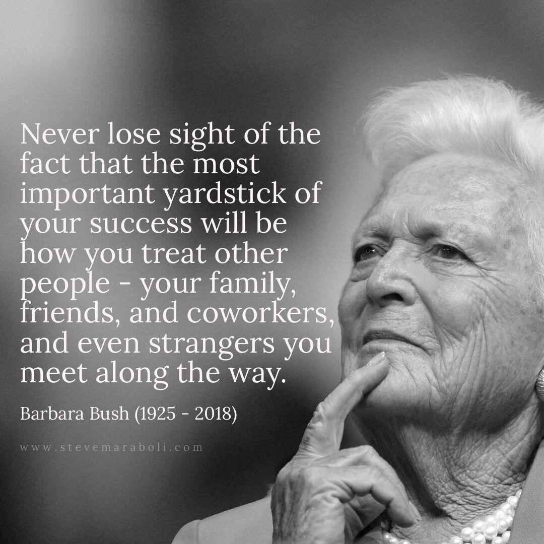 bush citater Barbara Bush   1925   2018 RIP, Ms. Bush. | For the Next  bush citater