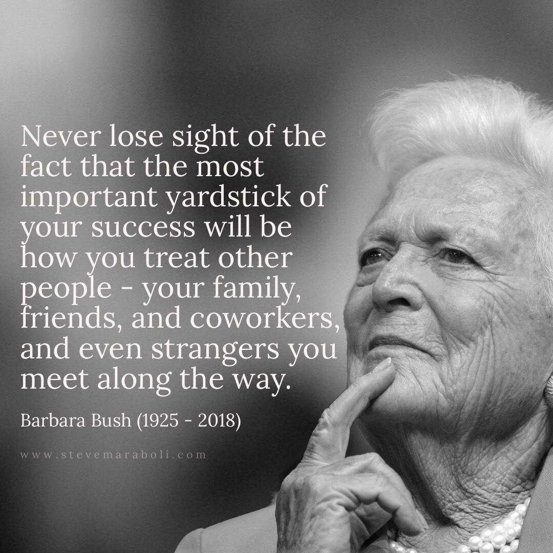 Barbara Bush Quotes 1
