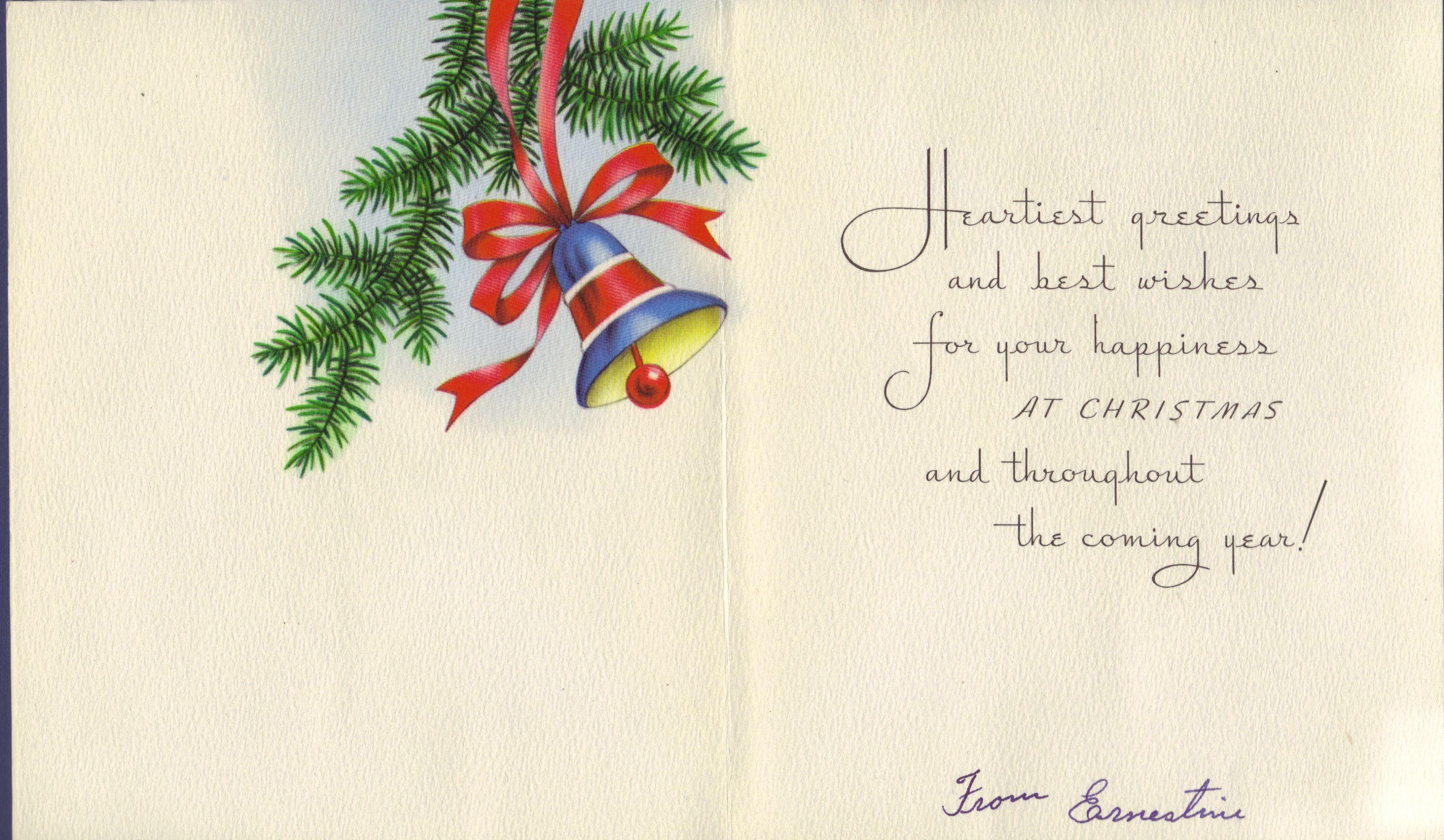Vintage Christmas Cards, II | Vintage christmas cards, Vintage ...