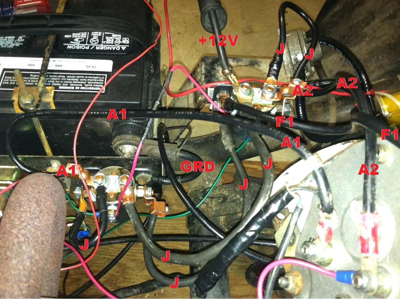 golf cart solenoid wiring diagram fantastic new roc grp org adorable club car [ 1295 x 969 Pixel ]