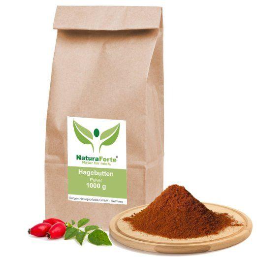 NaturaForte® 1kg Hagebuttenpulver naturrein glutenfrei