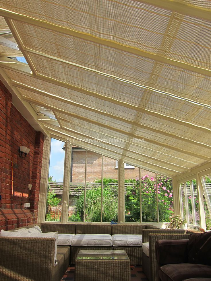 Pure Pinoleum Blinds For Conservatories Pergola Pergola Plans Design Conservatory Roof Blinds