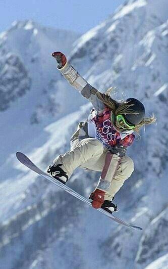 ~Jamie Anderson~ ~Sochi 2014~ ~Snowboarding ...