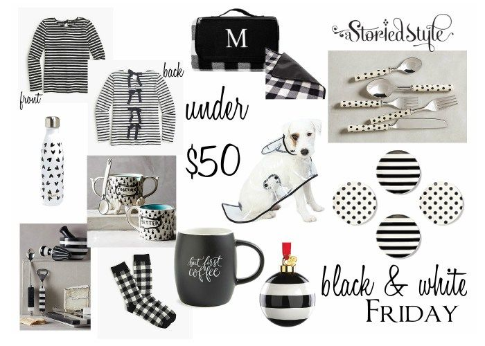 Black & White Friday + Easy Gifts for Kids & Adults | A Storied Style | A design blog dedicated to sharing the stories behind the styles we create.