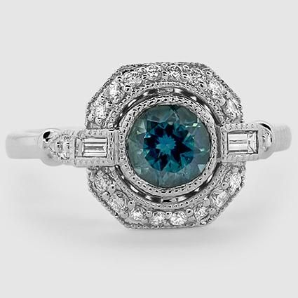18k White Gold Sapphire Ostara Diamond Ring 1 4 Ct Tw Sapphire Jewelry White Gold Sapphire Gemstone Engagement Rings