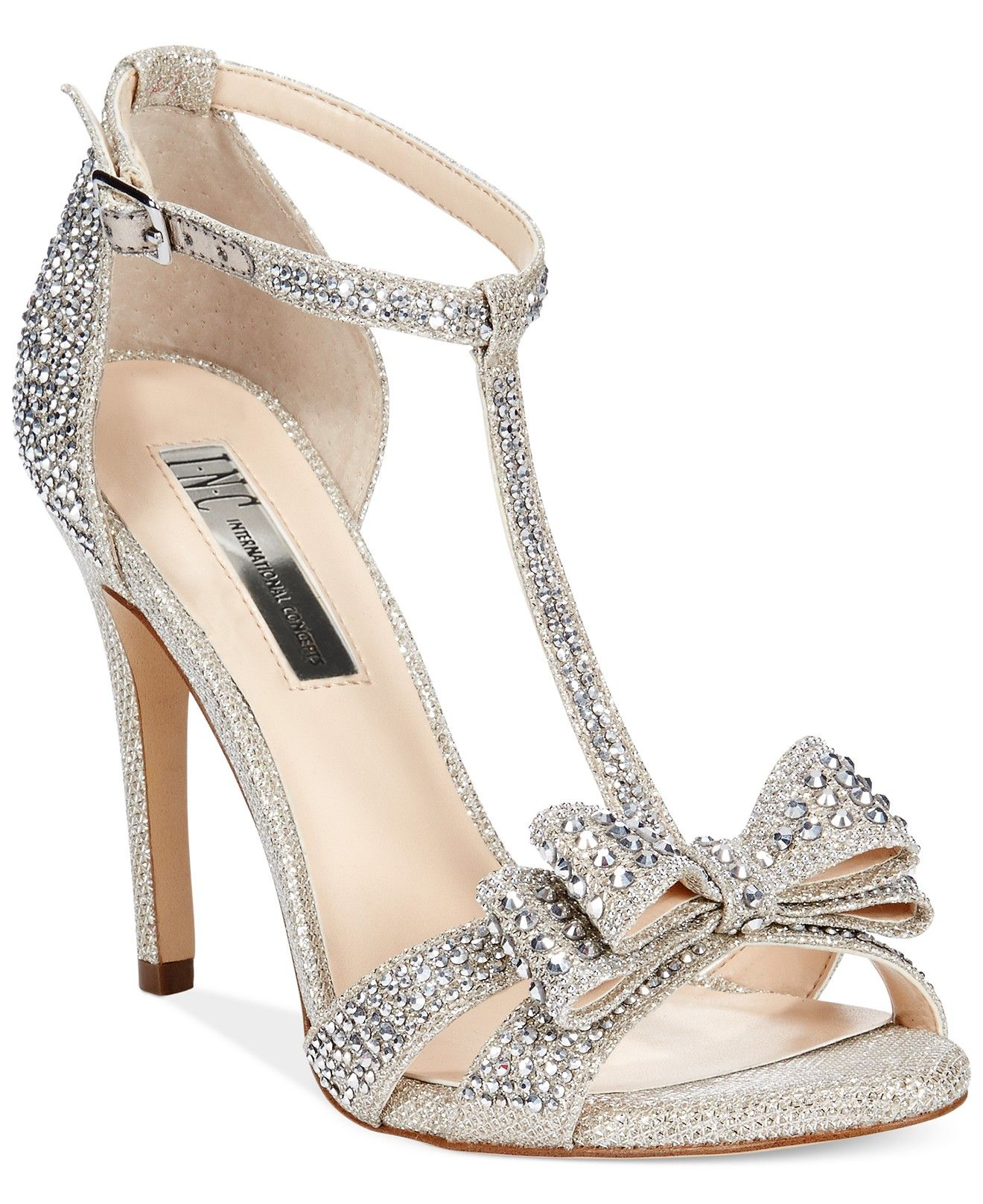 9b10102b8f028 INC International Concepts Women s Reesie2 High Heel Evening Sandals -  Sandals - Shoes - Macy s