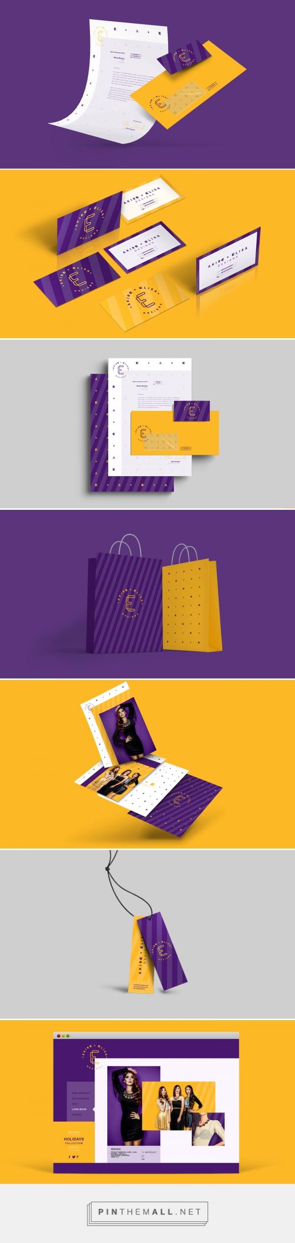 Akire + Elisa Designs / Proposal on Behance | Fivestar Branding – Design and Branding Agency & Inspiration Gallery
