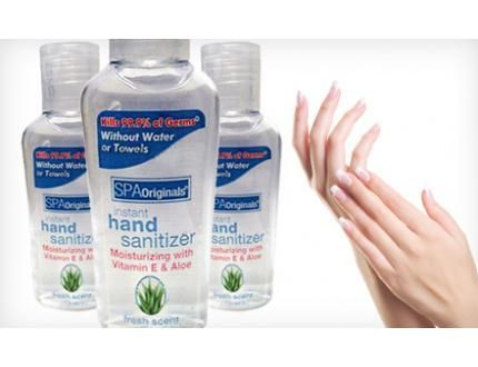 15 For A 30 Pack Of 2 Oz Spa Originals Instant Hand Sanitizers
