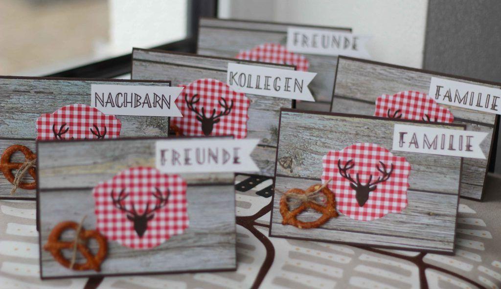 Bayerisch Motto Geburtstag Tischdeko Karte Paperlovedesign Cards