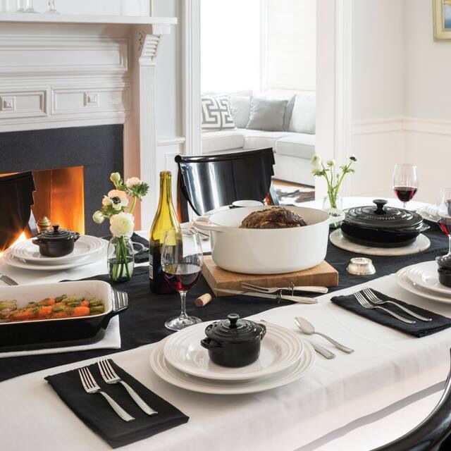 The black and white collection, Le Creuset