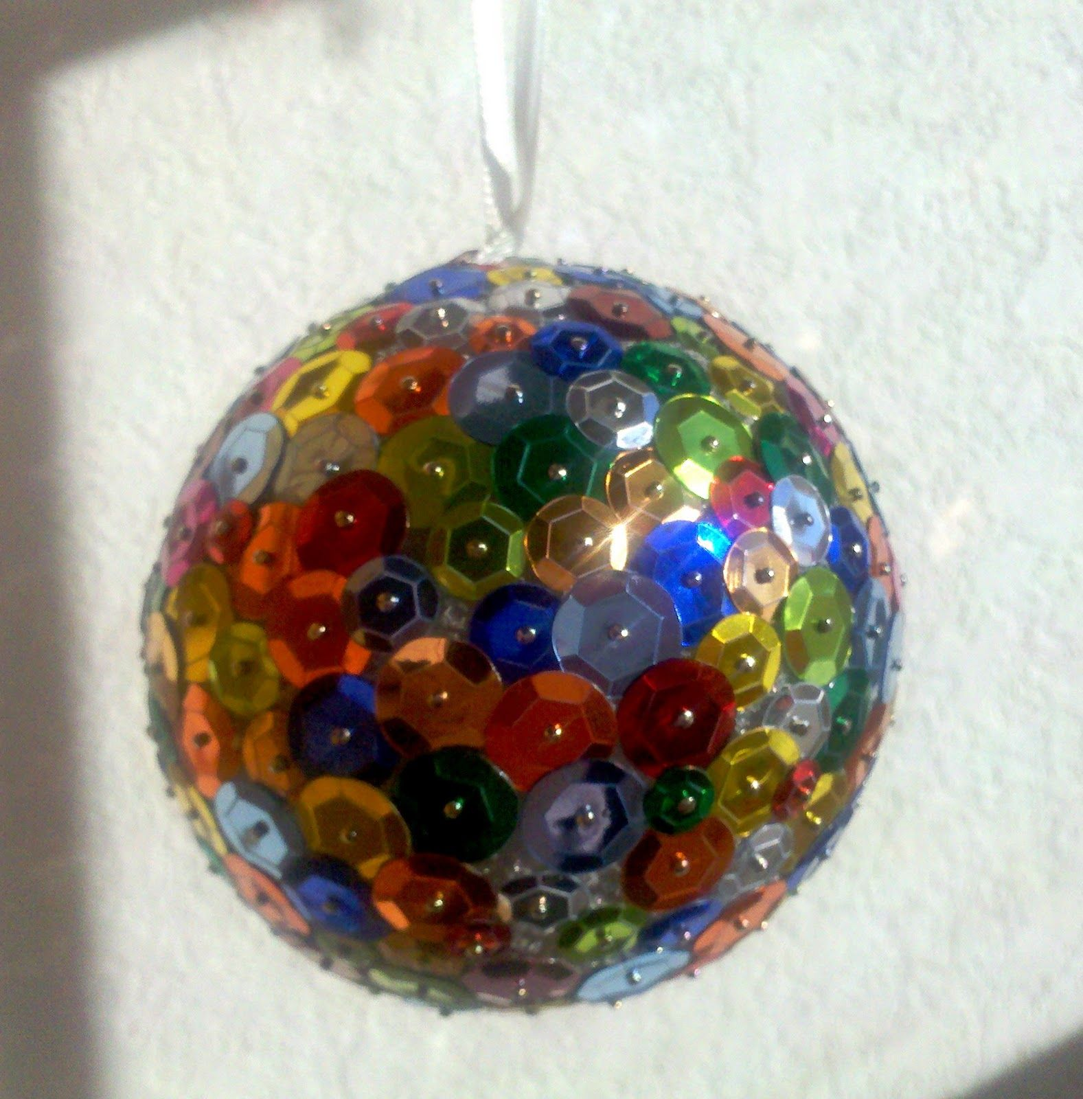 Disco Balls Decorations: Backstitch Baby: New Year's Eve Disco Ball- Party Favor