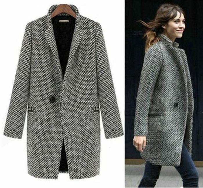 Choisir le plus élégant manteau long femme avec notre galerie de photos! d7e3a1d7cab9