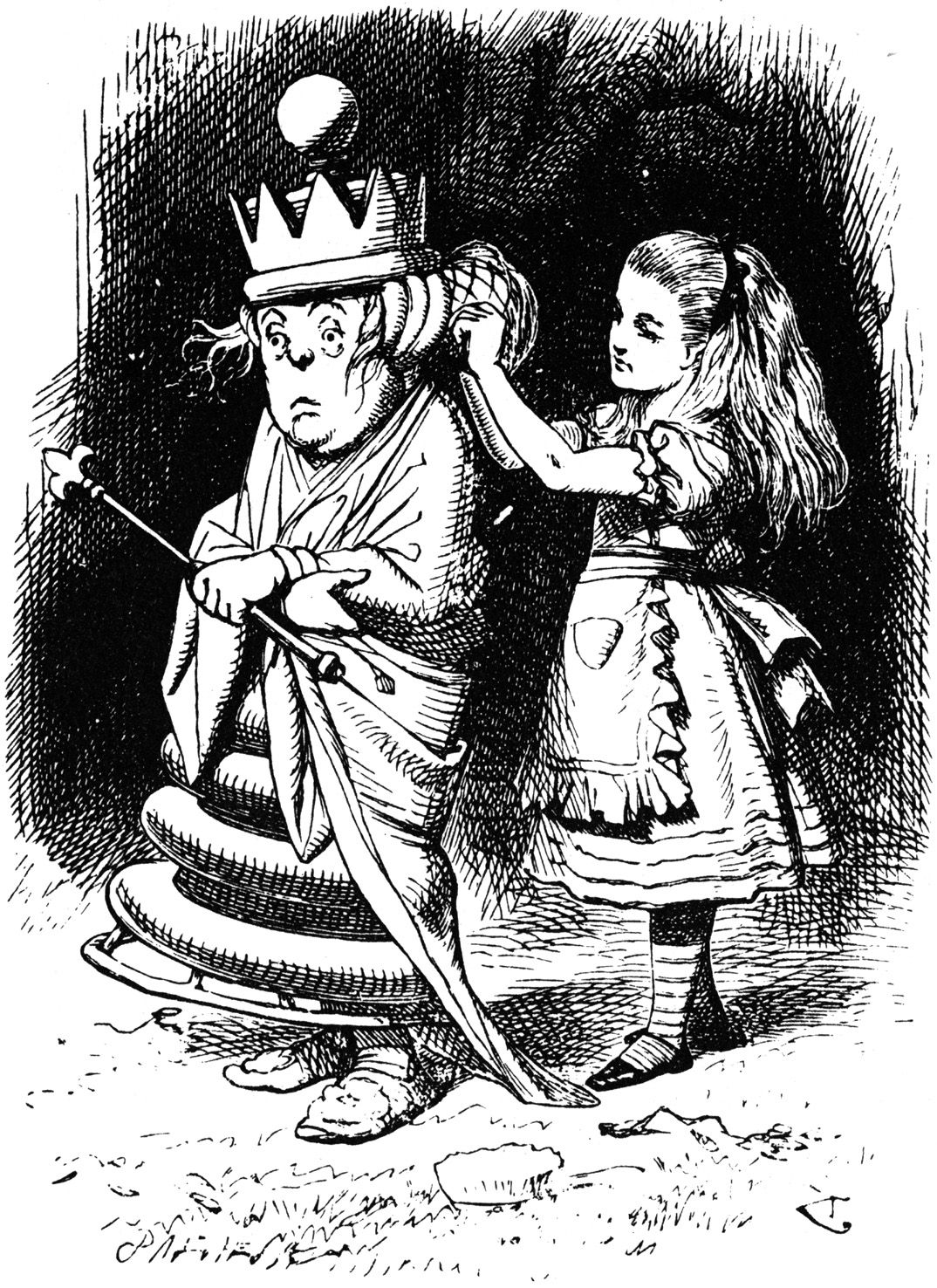 the rediscovery of identity in the adventures of alice in wonderland a novel by lewis carroll Alice's adventures in wonderland lewis carroll  but in wonderland, alice's previous identity and the very concept of  throughout the novel, alice is filled with.