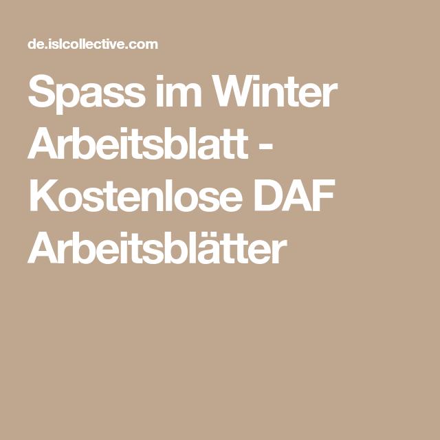 Spass im Winter   Arbeitsblätter, Schreiben Arbeitsblatt und Richtig ...