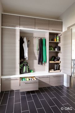 Modern Home Mudroom Design Ideas, Pictures, Remodel, and Decor ...