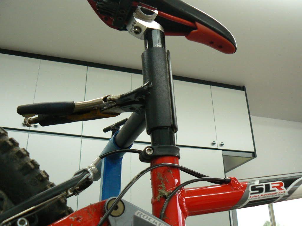 Diy workstand bike stand biking workout bicycle
