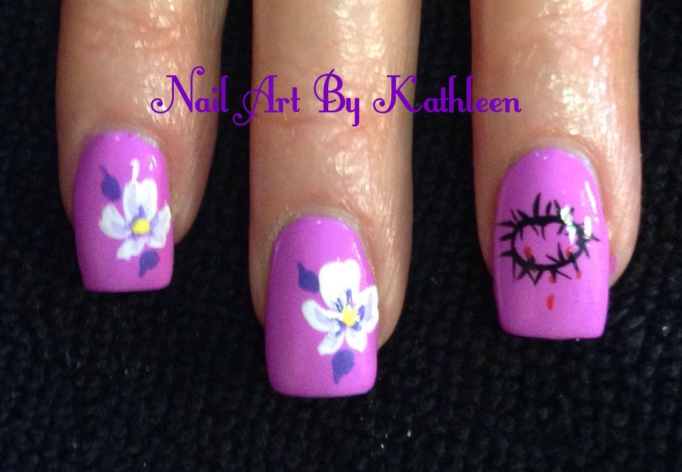 Christian Nail Art #nails #nailart #christian #jesus #goodfriday ...