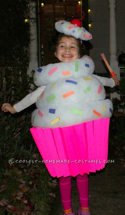 easy diy halloween costumes for kids boys and girls how to make  cupcake costume also quick  rh pinterest