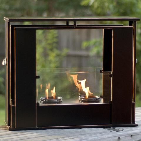 Elegant Electric Fireplace Outdoor Indoor Fireplaces Portable