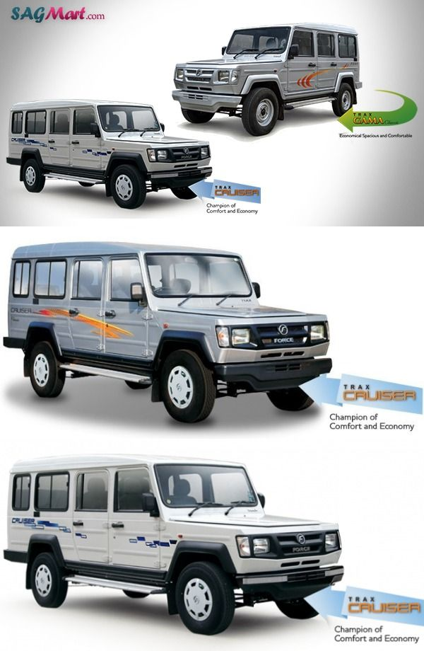 Force Trax Toofan Deluxe And Cruiser Deluxe Launched In India Cruiser Car Suv Cars Cruisers