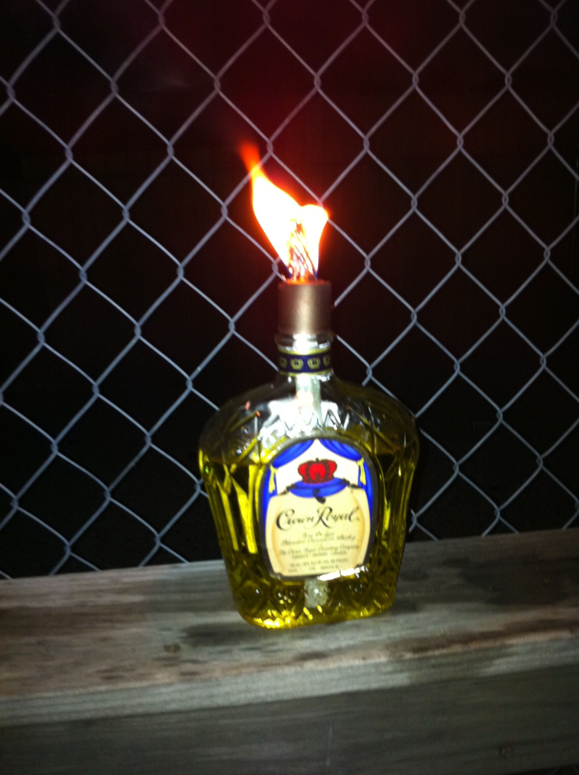 Homemade Tiki Torch