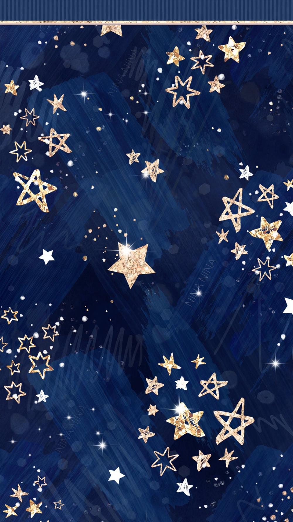 Stellar by NinaNinaCraft, Watercolor Stars Digital