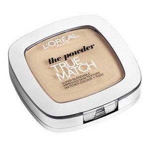 L'oréal Paris: The powder, True Match -puuteri värisävyä D1/W1 golden ivory. Prismassa n. 15 €