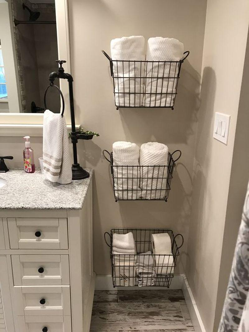 15 Simple Diy Ideas To Upgrade Old Bathroom Storage Bathroom