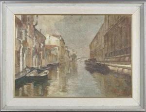 Nicola Arduino - Venice Canal Scene
